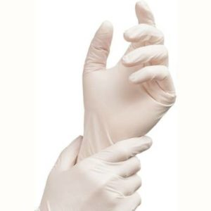Latex Examination Gloves Non Sterile Powdered